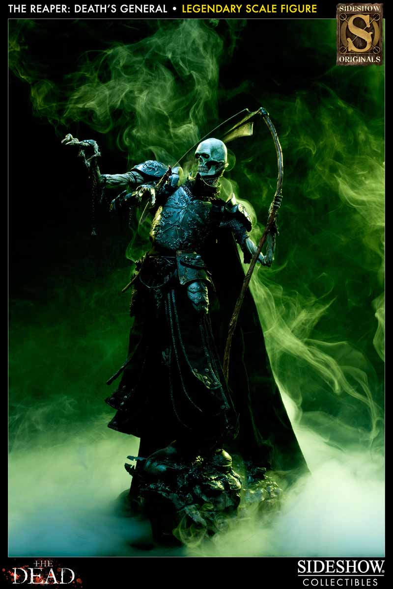COURT OF THE DEAD: DEATH'S GENERAL Legendary scale figure 7213_press18