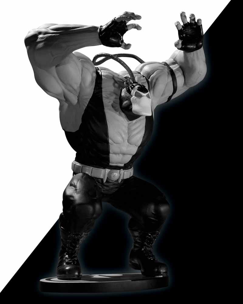 BATMAN BLACK & WHITE VILLAINS #07 : BANE / KELLY JONES BMBW_KelleyJones_BANE
