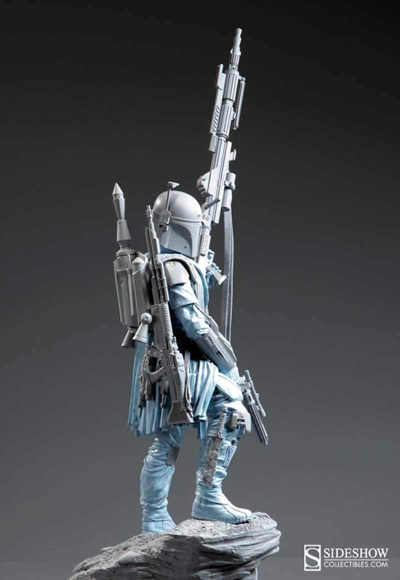 STAR WARS: BOBA FETT Mythos statue Swmyth2