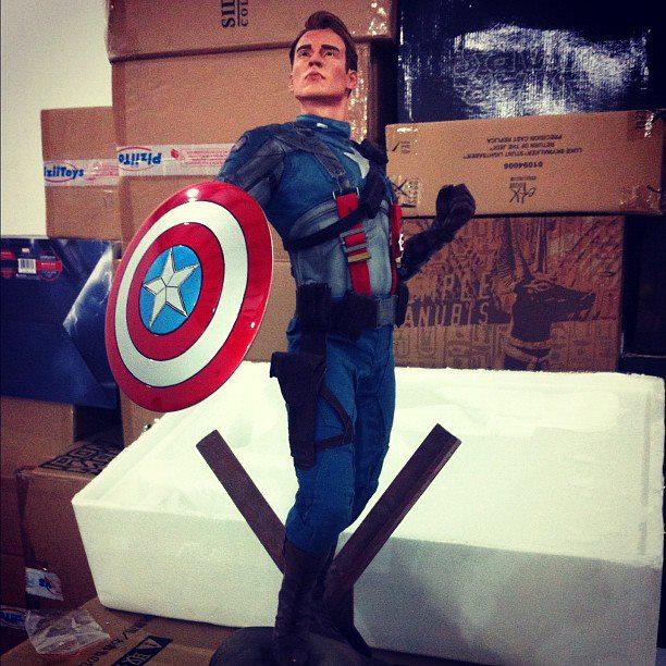 "CAPTAIN AMERICA""The first avenger"" premium format Cappf1"