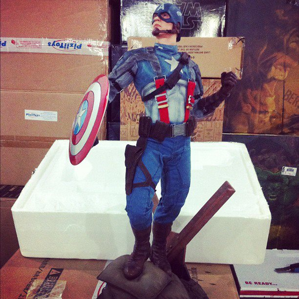 "CAPTAIN AMERICA""The first avenger"" premium format Cappf3"