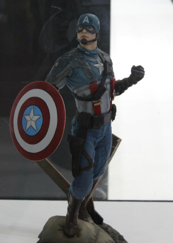 "CAPTAIN AMERICA""The first avenger"" premium format Cappf4"