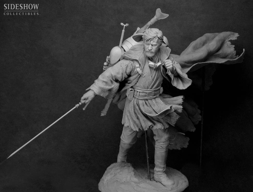 STAR WARS: BEN KENOBI Mythos statue  4