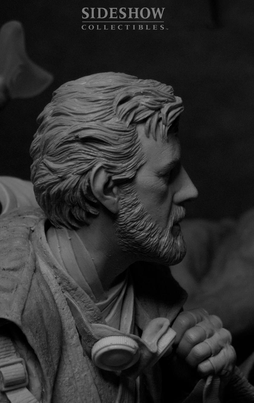 STAR WARS: BEN KENOBI Mythos statue  9