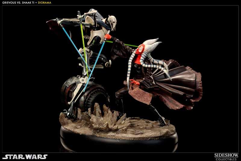 STAR-WARS: SHAAK TI VS. GENERAL GRIEVOUS Diorama 200044_press01