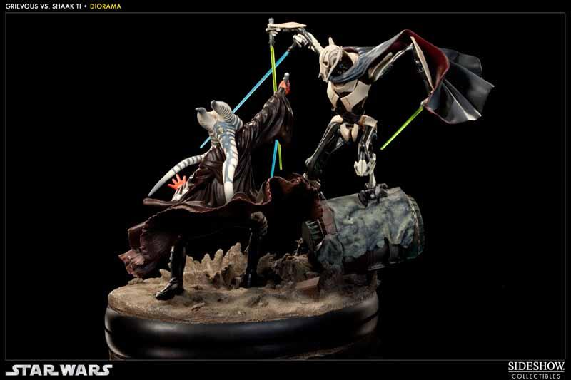 STAR-WARS: SHAAK TI VS. GENERAL GRIEVOUS Diorama 200044_press04