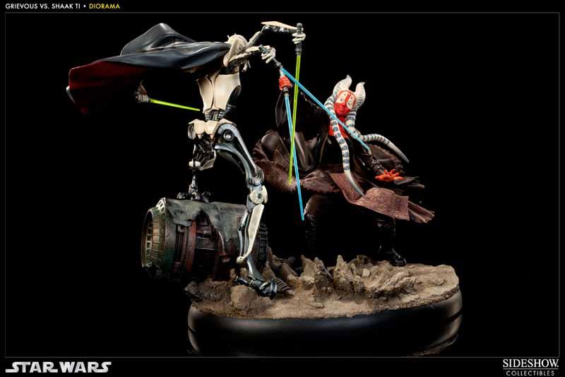 STAR-WARS: SHAAK TI VS. GENERAL GRIEVOUS Diorama 200044_press05
