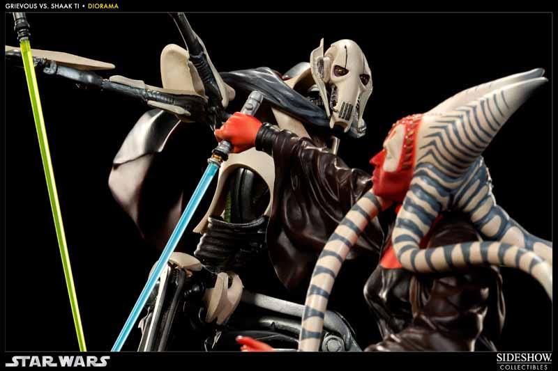 STAR-WARS: SHAAK TI VS. GENERAL GRIEVOUS Diorama 200044_press09