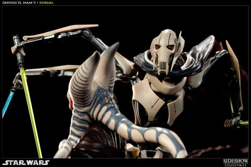 STAR-WARS: SHAAK TI VS. GENERAL GRIEVOUS Diorama 200044_press10