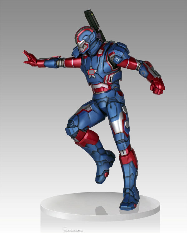 IRON PATRIOT 1/4 STATUE GENTLE GIANT Gentle-giant-iron-patriot-statue-3-121813