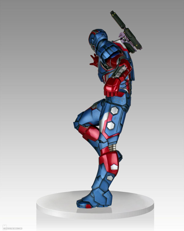 IRON PATRIOT 1/4 STATUE GENTLE GIANT Gentle-giant-iron-patriot-statue-4-121813