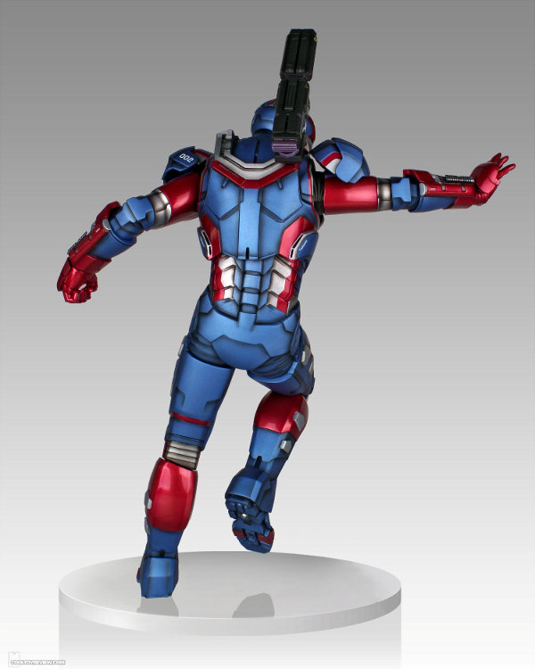 IRON PATRIOT 1/4 STATUE GENTLE GIANT Gentle-giant-iron-patriot-statue-6-121813