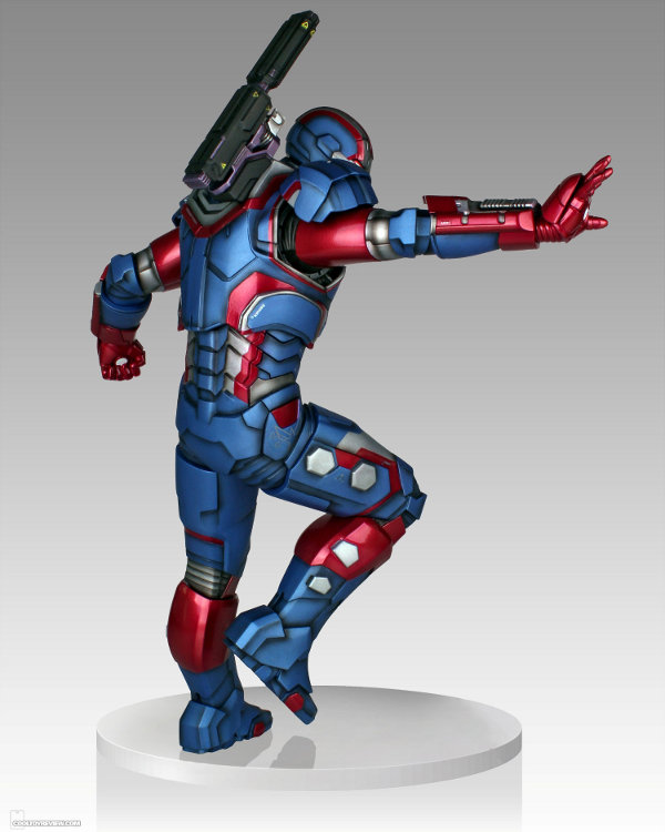 IRON PATRIOT 1/4 STATUE GENTLE GIANT Gentle-giant-iron-patriot-statue-7-121813