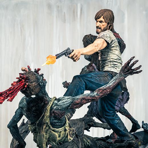 McFarlane Toys : THE WALKING DEAD - RICK GRIMES resin statue McFarlane-Toys-Rick-Grimes-Reverse