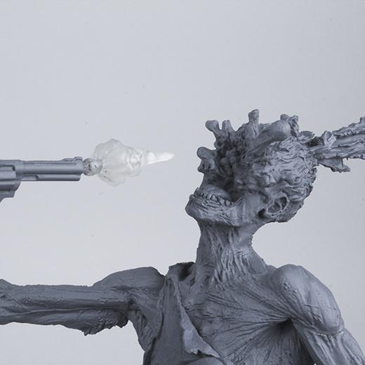 McFarlane Toys : THE WALKING DEAD - RICK GRIMES resin statue McFarlane-Toys-Rick-Grimes-Unpainted-Gunshot