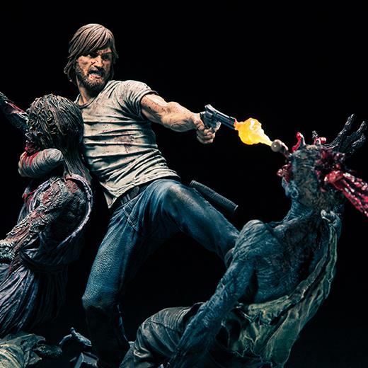 McFarlane Toys : THE WALKING DEAD - RICK GRIMES resin statue Mcfarlane-Rick-Grimes-Gunshot