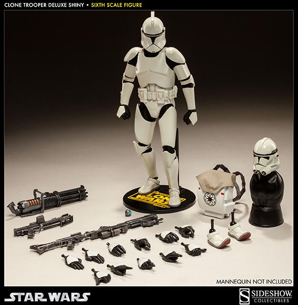 STAR WARS: CLONE TROOPER DELUXE SHINY sixth scale figure 12-Clone_trooper_deluxe_shiny