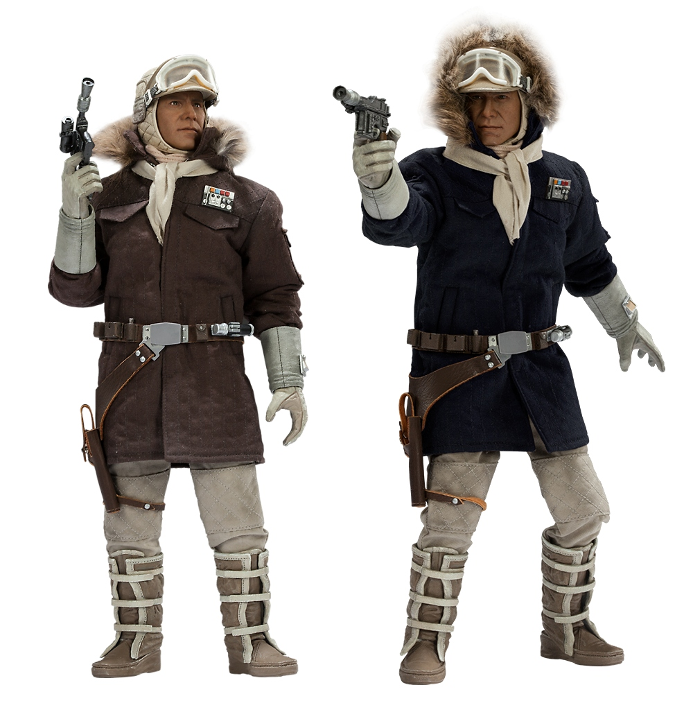 """STAR WARS: CAPTAIN HAN SOLO """" Echo base Hoth""""  Sixth scale figure  154101d1389365223-pre-order-now-sideshow-1-6-star-wars-han-solo-hoth-gear-1hothhanboth"""