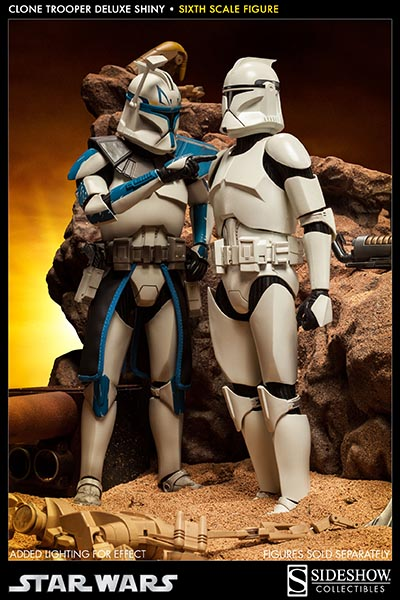 STAR WARS: CLONE TROOPER DELUXE SHINY sixth scale figure 2-Clone_trooper_deluxe_shiny