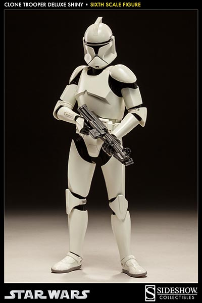 STAR WARS: CLONE TROOPER DELUXE SHINY sixth scale figure 4-Clone_trooper_deluxe_shiny