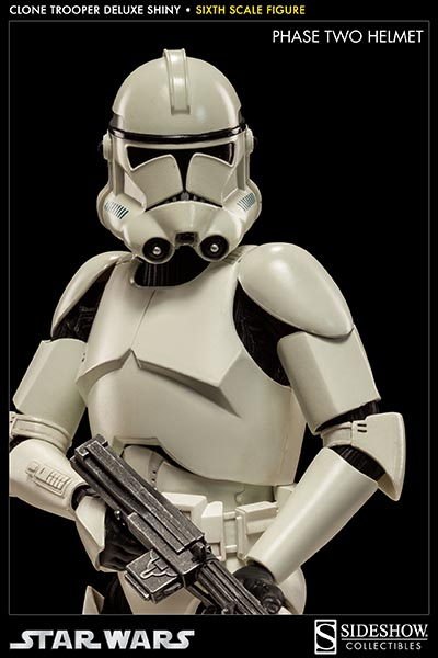 STAR WARS: CLONE TROOPER DELUXE SHINY sixth scale figure 6-Clone_trooper_deluxe_shiny