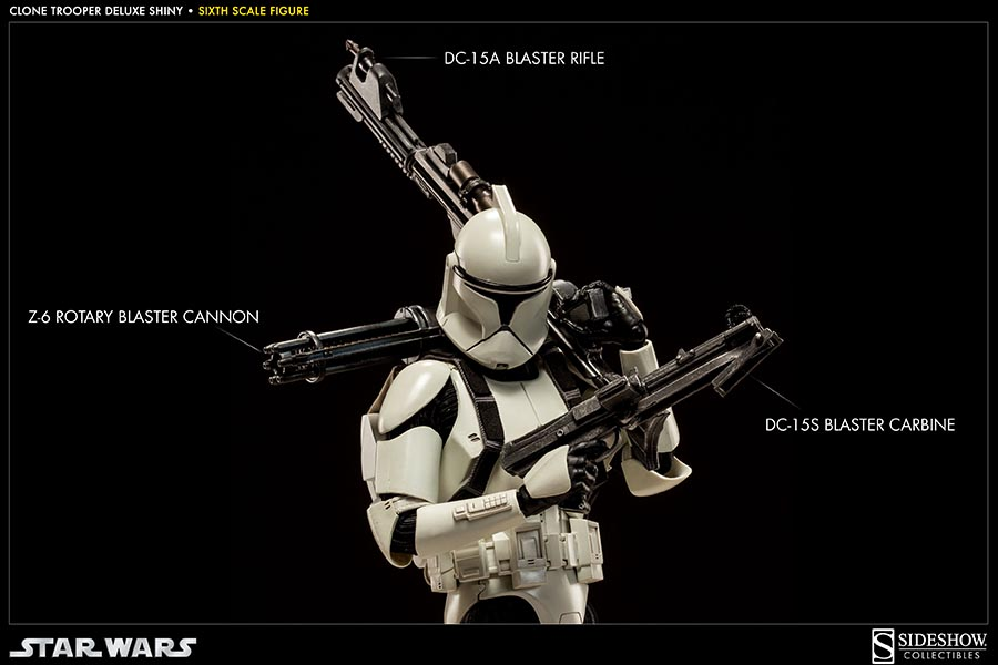 STAR WARS: CLONE TROOPER DELUXE SHINY sixth scale figure 7-Clone_trooper_deluxe_shiny