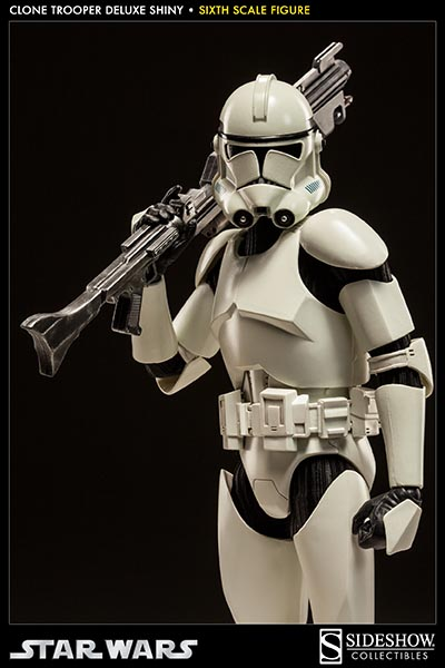 STAR WARS: CLONE TROOPER DELUXE SHINY sixth scale figure 9-Clone_trooper_deluxe_shiny
