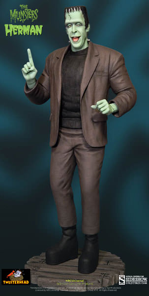 THE MUNSTERS : HERMAN MUNSTER MAQUETTE 1-THEETERHEAD_-_HERMAN_MUNSTER_16_MAQUETTE