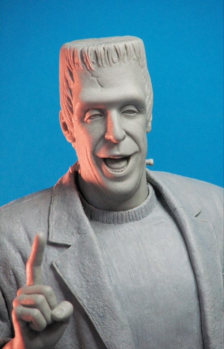 THE MUNSTERS : HERMAN MUNSTER MAQUETTE 16-THEETERHEAD_-_HERMAN_MUNSTER_16_MAQUETTE