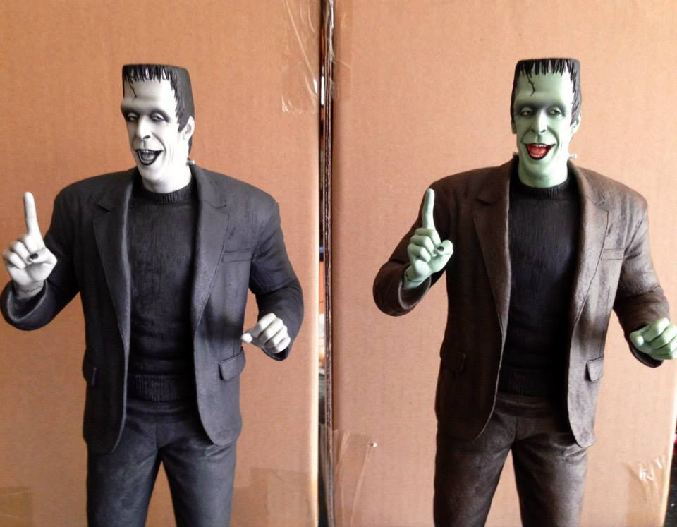 THE MUNSTERS : HERMAN MUNSTER MAQUETTE 19-THEETERHEAD_-_HERMAN_MUNSTER_16_MAQUETTE
