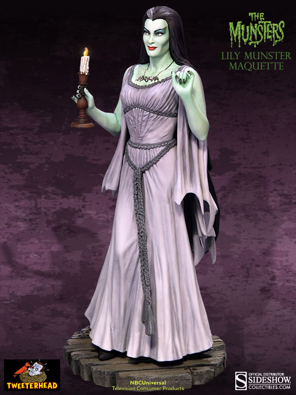 THE MUNSTERS : LILY MUNSTER MAQUETTE 3-THEETERHEAD_-_LILY_MUNSTER_16_MAQUETTE