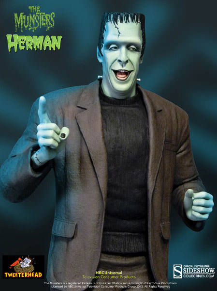 THE MUNSTERS : HERMAN MUNSTER MAQUETTE 4-THEETERHEAD_-_HERMAN_MUNSTER_16_MAQUETTE