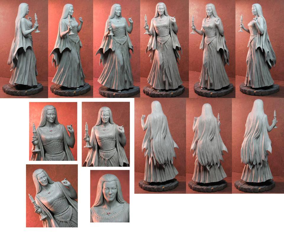 THE MUNSTERS : LILY MUNSTER MAQUETTE 8-THEETERHEAD_-_LILY_MUNSTER_16_MAQUETTE