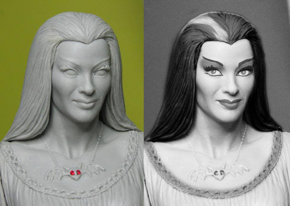 THE MUNSTERS : LILY MUNSTER MAQUETTE 9-THEETERHEAD_-_LILY_MUNSTER_16_MAQUETTE