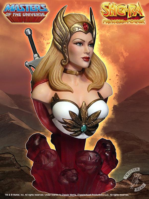 Masters of the Universe : SHE-RA BUST She-Ra-Promo_3Quarter_600x800