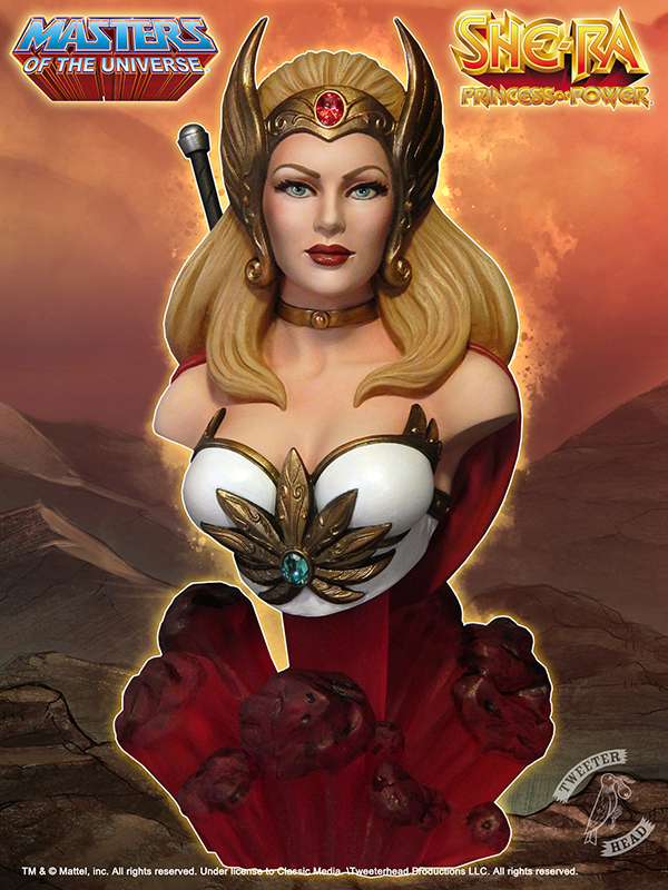 Masters of the Universe : SHE-RA BUST She-Ra-Promo_front_600x800