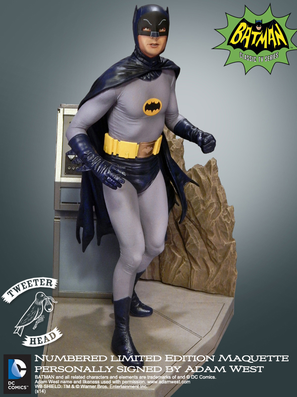 """Batman """"Signature Series"""" Maquette Bm31"""