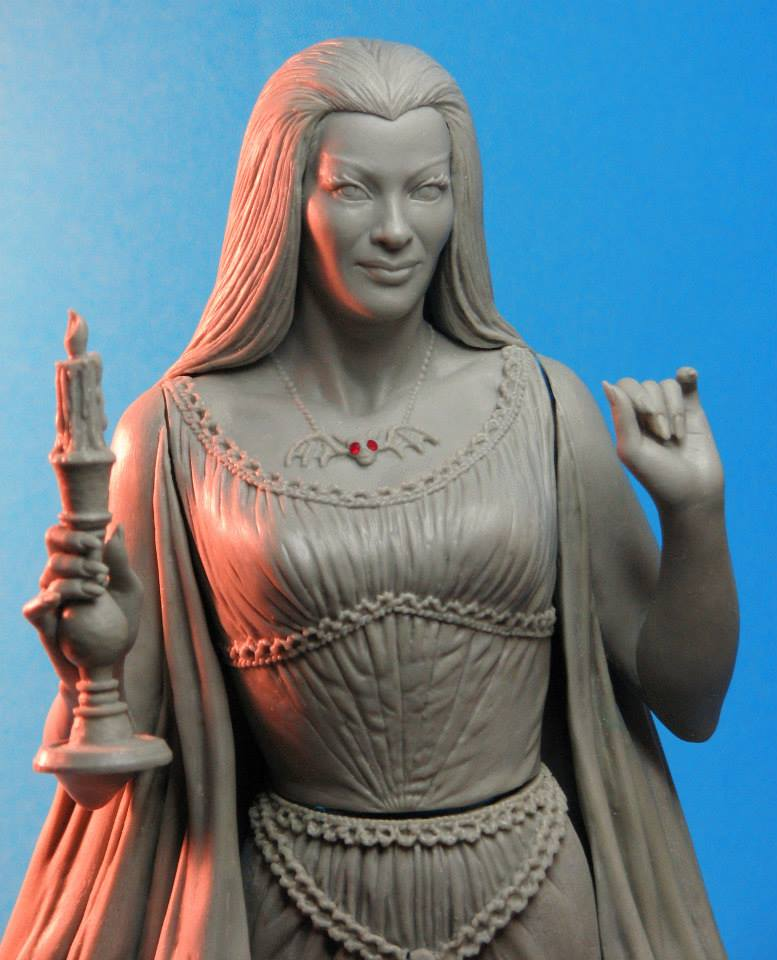 THE MUNSTERS : LILY MUNSTER MAQUETTE Lily-munster-tweeterhead-proto-2