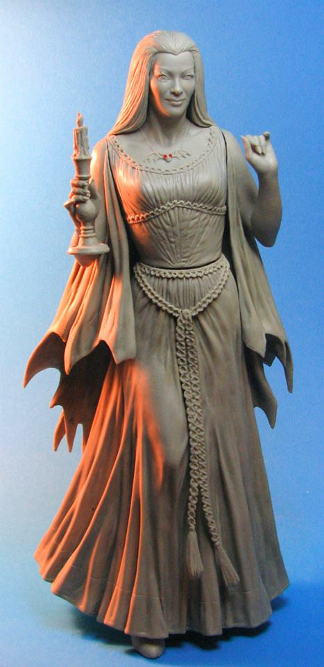 THE MUNSTERS : LILY MUNSTER MAQUETTE Lily-munster-tweeterhead-proto