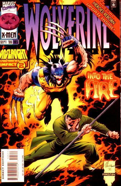 MARVEL HEROES (3ème série) Wolverine_105