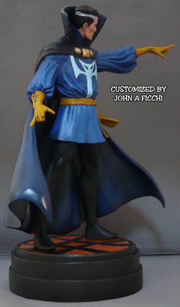 "DR.STRANGE ""retro"" - Statue - John A.Ficchi 0Doc1"
