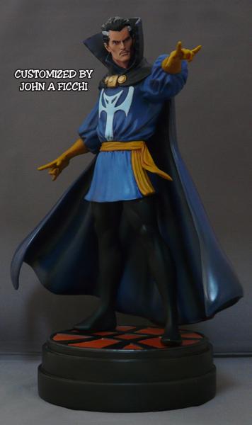 "DR.STRANGE ""retro"" - Statue - John A.Ficchi 0Doc2"