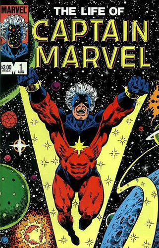 "CAPTAIN MARVEL ""Cosmic"" - Buste - John A.Ficchi Life_of_Captain_Marvel_Vol_1_1"