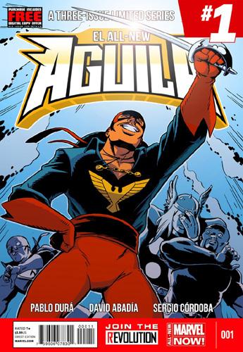 EL AGUILA - Buste - Bruno Bolteau Aguila-cover