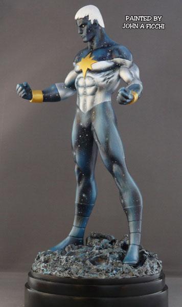 """CAPTAIN MARVEL """"Genis-Vell / Reborn"""" - Statue - John A.Ficchi Customgenisreborn1"""
