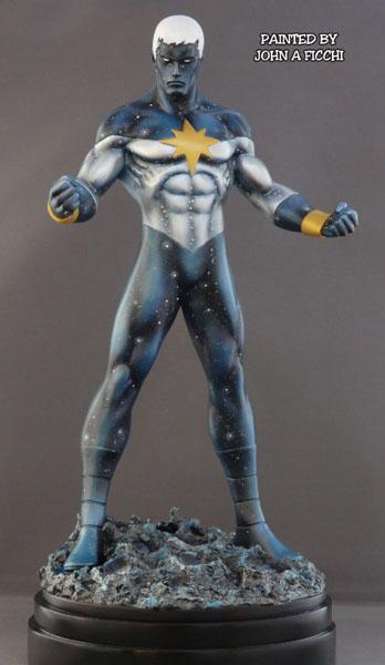 """CAPTAIN MARVEL """"Genis-Vell / Reborn"""" - Statue - John A.Ficchi Customgenisreborn2"""