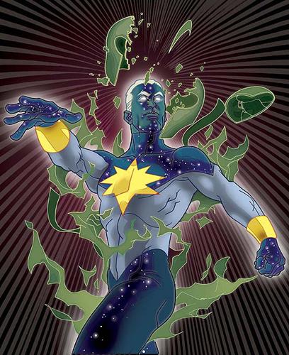 """CAPTAIN MARVEL """"Genis-Vell / Reborn"""" - Buste - John A.Ficchi Genisreborn"""
