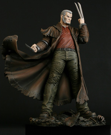 "Statue SERVAL ""Old Man Logan"" (Wolverine) 0OldmanLoganphotosoff1a"