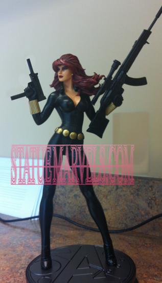 """Statue VEUVE NOIRE """"nouvelle version / variante"""" (Black Widow) BlackWidownew"""