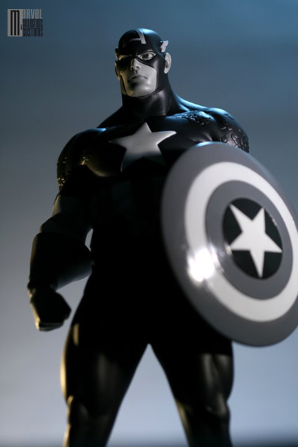"CAPTAIN AMERICA ""Newsreel Black and White"" Captain_America3_WIP15_copie"